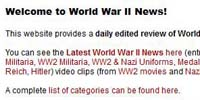 HitlersThirdReichandWorldWarIIintheNews