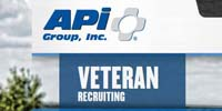 API Group Inc. Veteran Recruitment