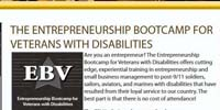 The Entrepreneurship Bootcamp for Veterans with Disabilities