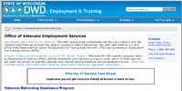 Veteran's Online Resources - Department of Workforce Development